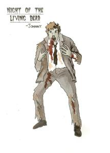 Plate from when I designed Night of the Living Dead for Stage One