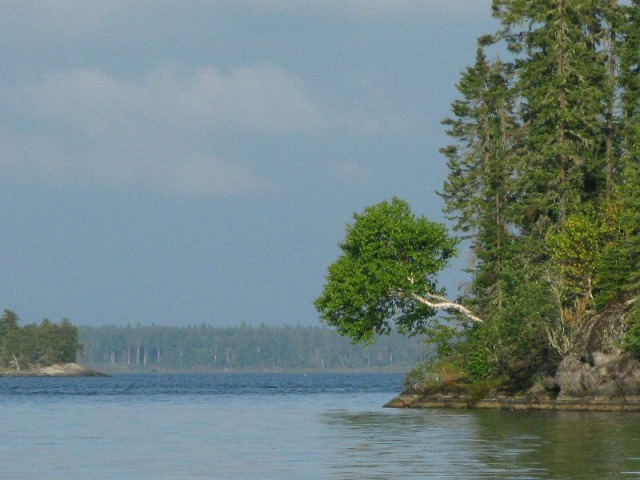 Off Cigar Island, Packwash Lake, Ontario.  I'm dreaming of summertime and fishing today.