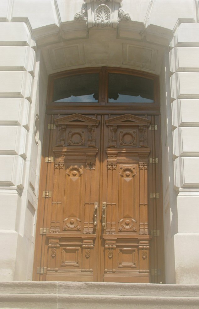 Even the doors are ornate and beautiful.