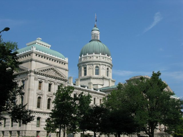 The Indiana Statehouse