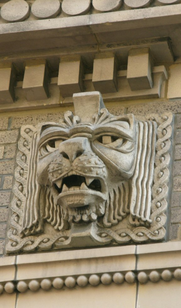 Lion or gargoyle?