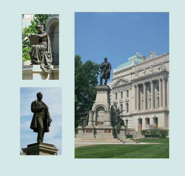 "Mostly statues of old white dudes, and a few nameless female figures signifying ""art"" and ""liberty."""