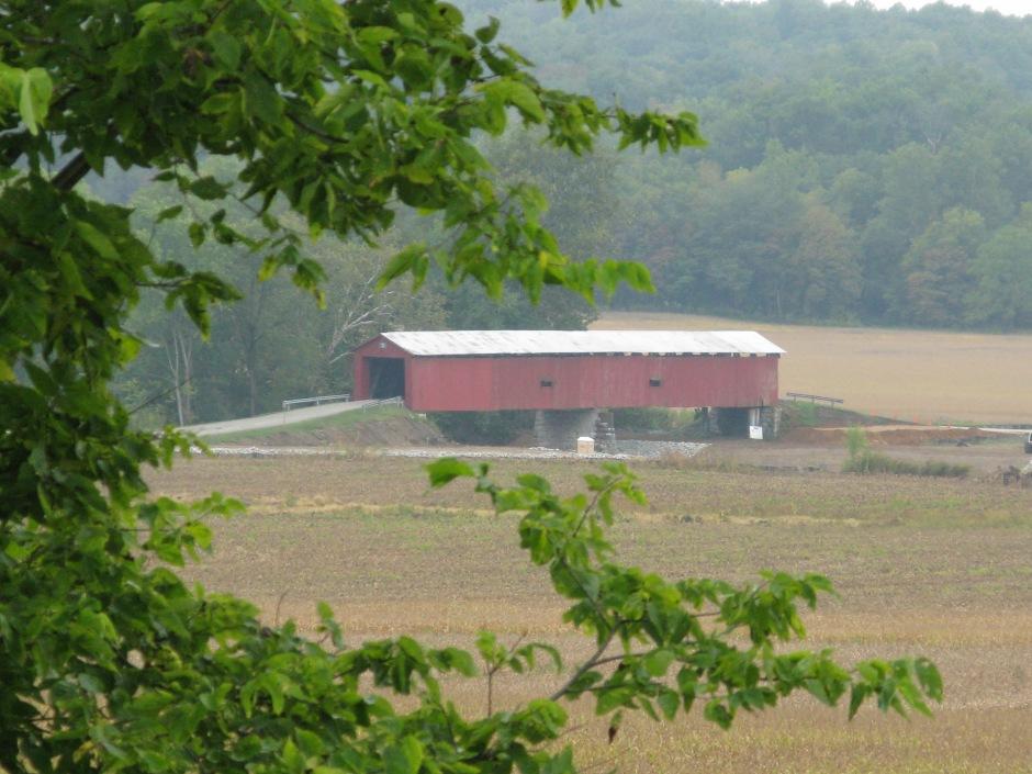 Houck bridge, near the Boone-Hutchingson cemetary.