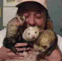 But rabid weasels are so cute!