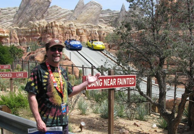 Radiator Springs Racers.  Yes, it's calm for younger kids, but you adults do not want to miss this ride!