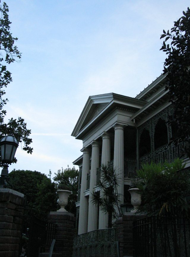 The Haunted Mansion.  Oooooh, spooky!