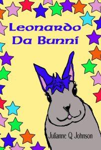 Leonardo Da Bunni's book cover.