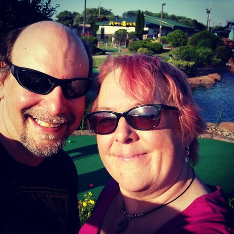 If I want to play miniature golf with my sweetie for my birthday, then I sure as hell will!